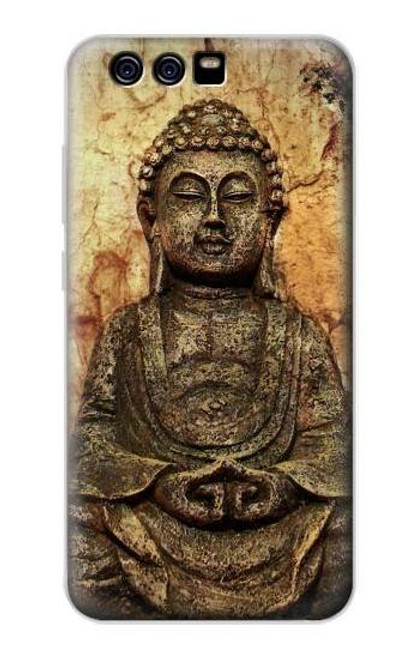 S0344 Buddha Rock Carving Case For Huawei P10