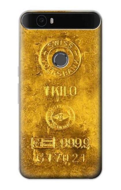 S2618 One Kilo Gold Bar Case For Huawei Nexus 6P