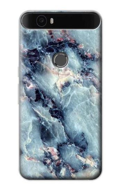 S2689 Blue Marble Texture Graphic Printed Case For Huawei Nexus 6P