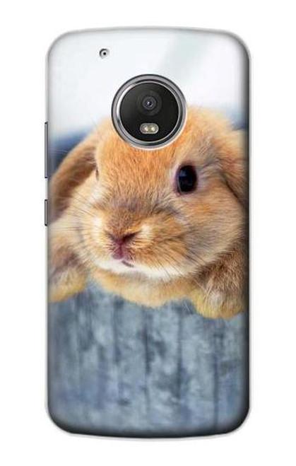 S0242 Cute Rabbit Case For Motorola Moto G5 Plus
