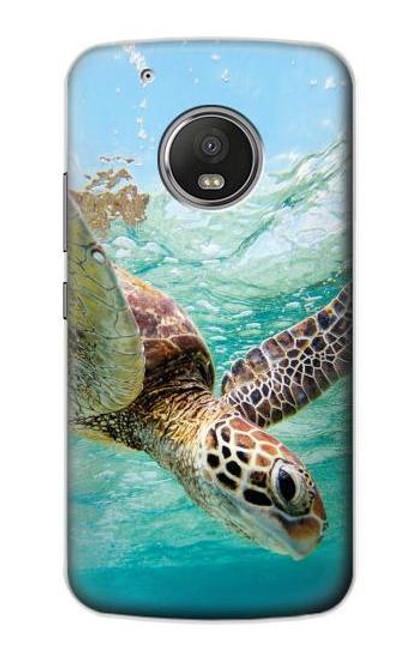 S1377 Ocean Sea Turtle Case For Motorola Moto G5 Plus