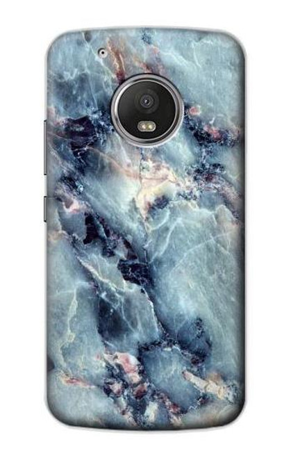 S2689 Blue Marble Texture Graphic Printed Case For Motorola Moto G5 Plus