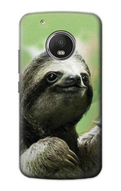 S2708 Smiling Sloth Case For Motorola Moto G5 Plus