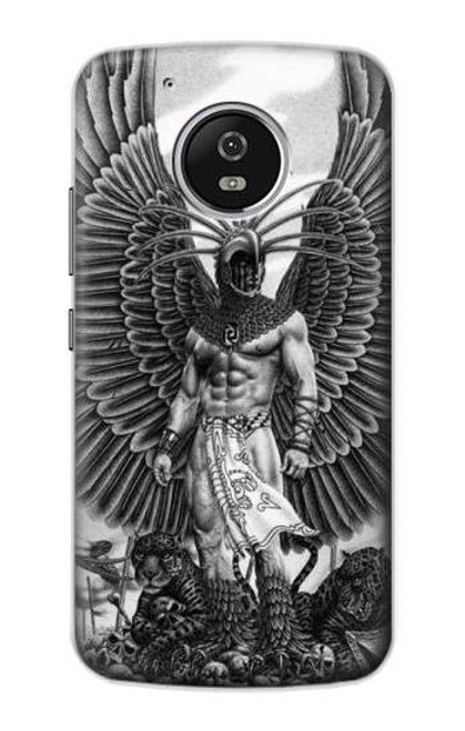 S1235 Aztec Warrior Case For Motorola Moto G5