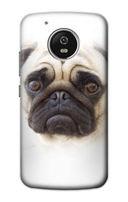 S1852 Pug Dog Case For Motorola Moto G5