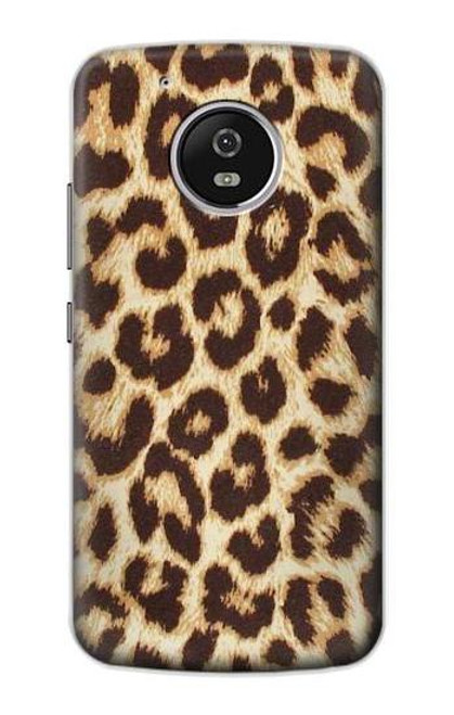 S2204 Leopard Pattern Graphic Printed Case For Motorola Moto G5