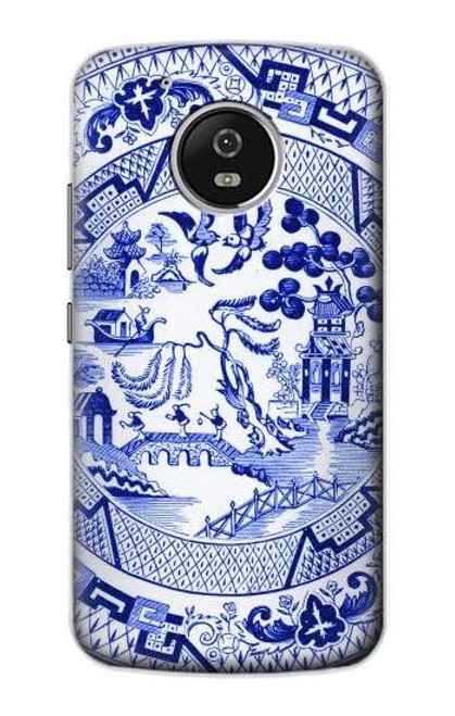 S2768 Willow Pattern Graphic Case For Motorola Moto G5