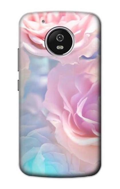 S3050 Vintage Pastel Flowers Case For Motorola Moto G5