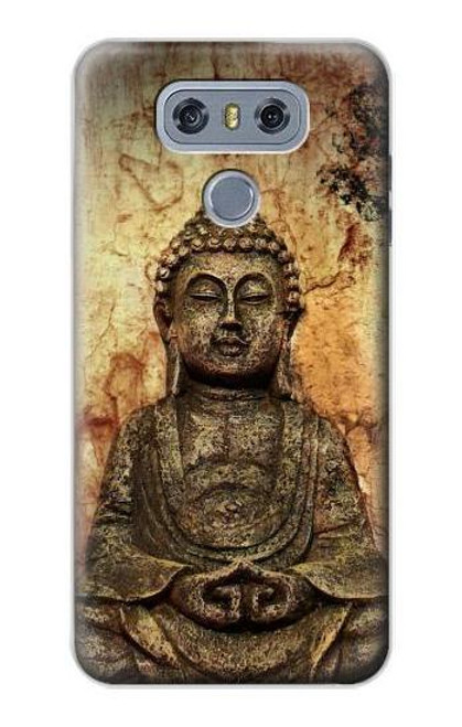 S0344 Buddha Rock Carving Case For LG G6