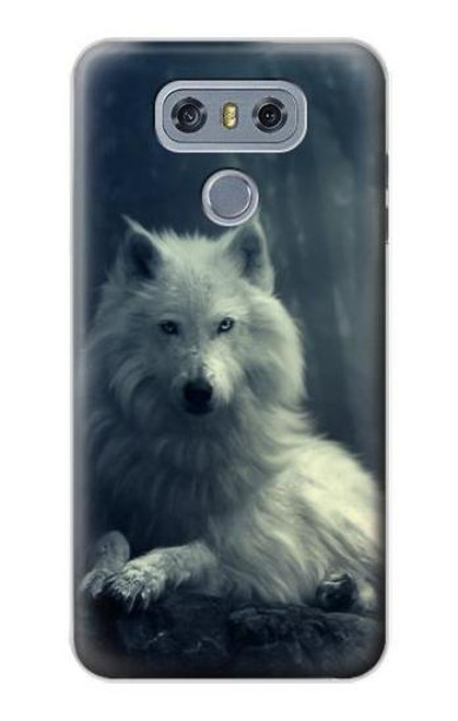 S1516 White Wolf Case For LG G6
