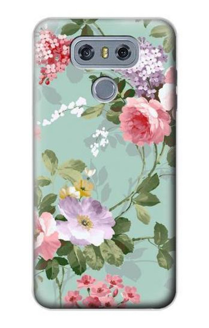 S2178 Flower Floral Art Painting Case For LG G6
