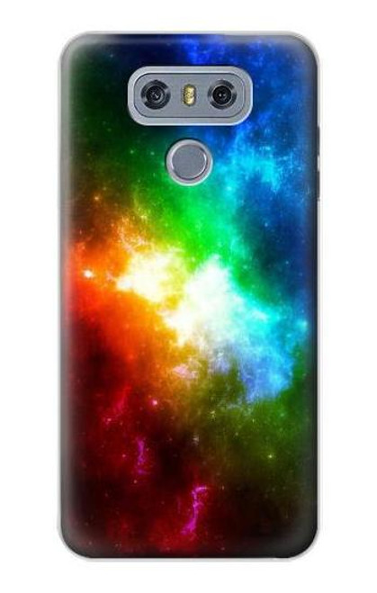 S2312 Colorful Rainbow Space Galaxy Case For LG G6