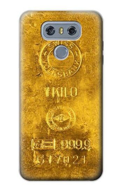 S2618 One Kilo Gold Bar Case For LG G6