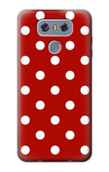 S2951 Red Polka Dots Case For LG G6