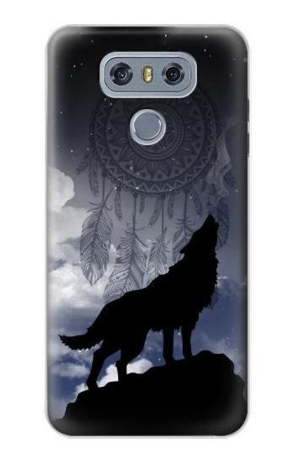 S3011 Dream Catcher Wolf Howling Case For LG G6
