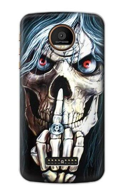 S0222 Skull Pentagram Case For Motorola Moto Z Force, Z Play
