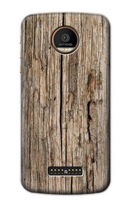 S0600 Wood Graphic Printed Case For Motorola Moto Z Force, Z Play
