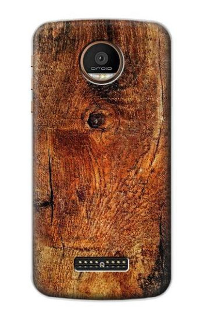 S1140 Wood Skin Graphic Case For Motorola Moto Z Force, Z Play
