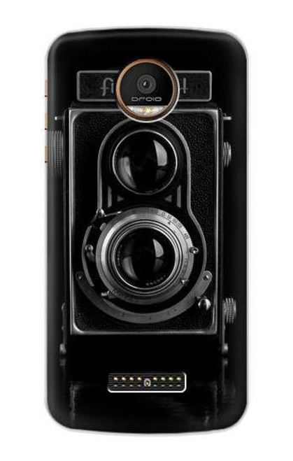 S1979 Vintage Camera Case For Motorola Moto Z Force, Z Play