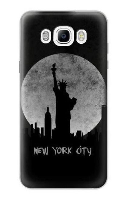 S3097 New York City Case For Samsung Galaxy J7 (2016)