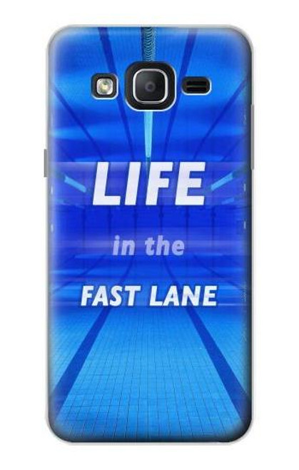 S3136 Life in the Fast Lane Swimming Pool Case For Samsung Galaxy On5