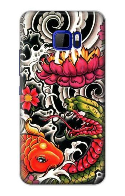 S0605 Yakuza Tattoo Case For HTC U Ultra