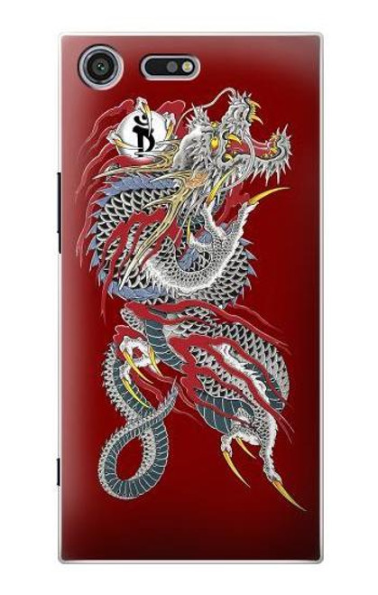 S2104 Yakuza Dragon Tattoo Case For Sony Xperia XZ Premium
