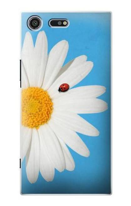 S3043 Vintage Daisy Lady Bug Case For Sony Xperia XZ Premium