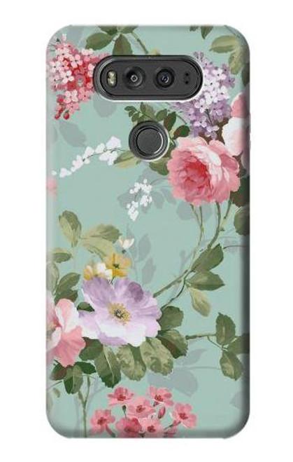 S2178 Flower Floral Art Painting Case For LG V20