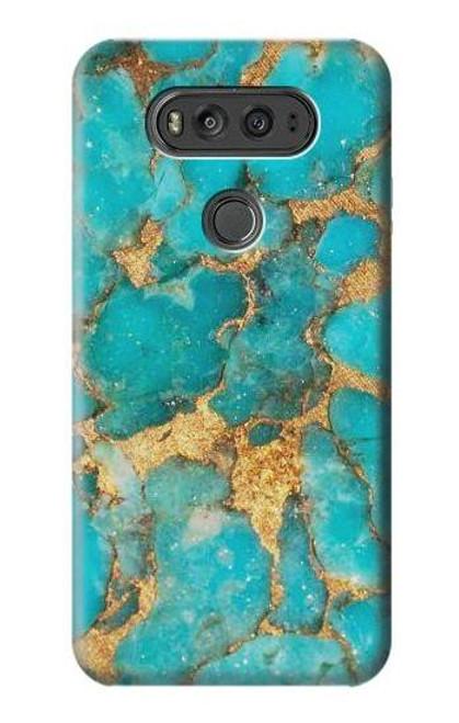 S2906 Aqua Turquoise Stone Case For LG V20