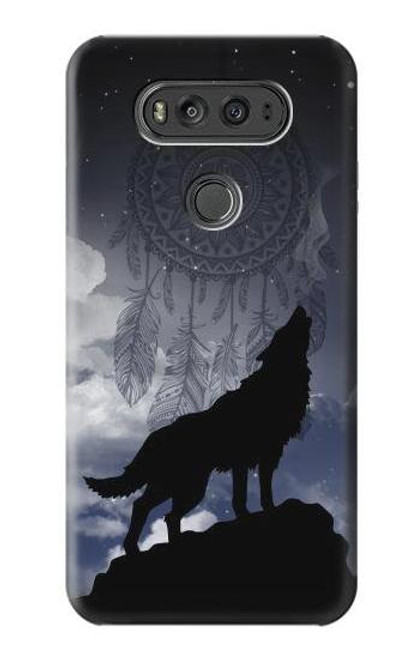 S3011 Dream Catcher Wolf Howling Case For LG V20