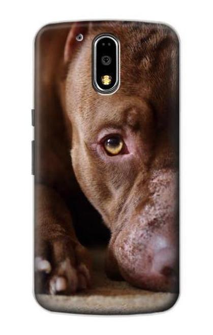 S0519 PitBull Face Case For Motorola Moto G4, G4 Plus