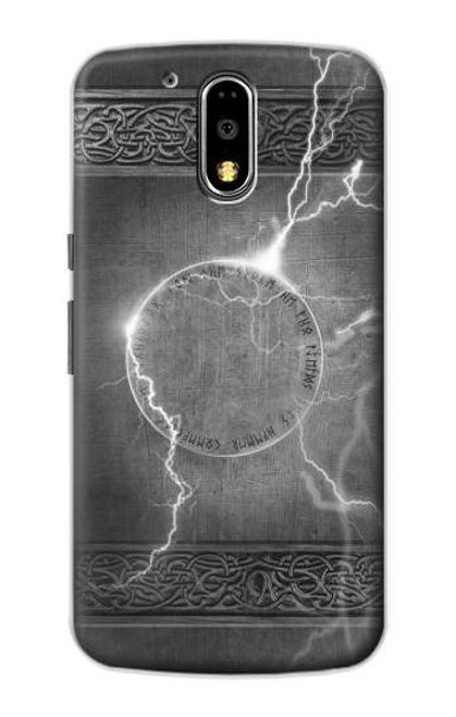 S2533 Thor Thunder Strike Hammer Case For Motorola Moto G4, G4 Plus
