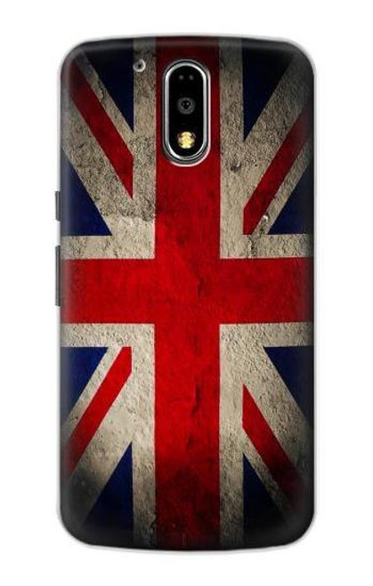 S2894 Vintage British Flag Case For Motorola Moto G4, G4 Plus