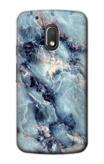 S2689 Blue Marble Texture Graphic Printed Case For Motorola Moto G4 Play