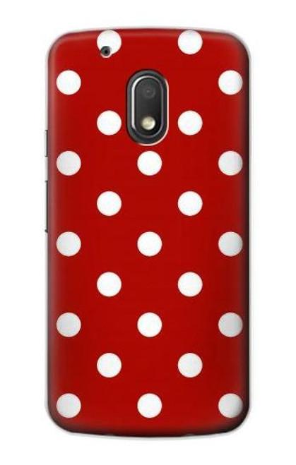 S2951 Red Polka Dots Case For Motorola Moto G4 Play