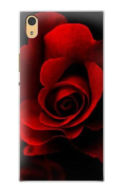 S2898 Red Rose Case For Sony Xperia XA1 Ultra