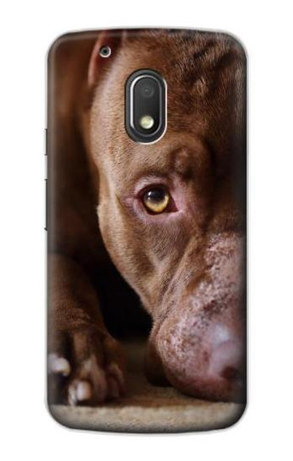 S0519 PitBull Face Case For Motorola Moto G4 Play