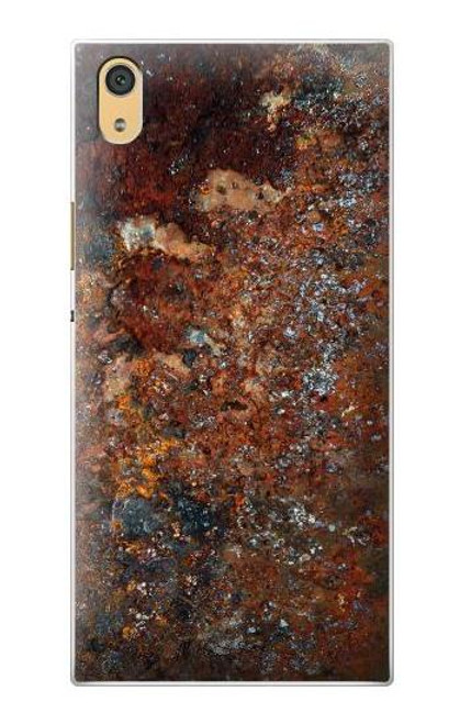 S2714 Rust Steel Texture Graphic Printed Case For Sony Xperia XA1 Ultra