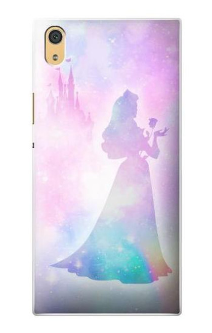 S2992 Princess Pastel Silhouette Case For Sony Xperia XA1 Ultra