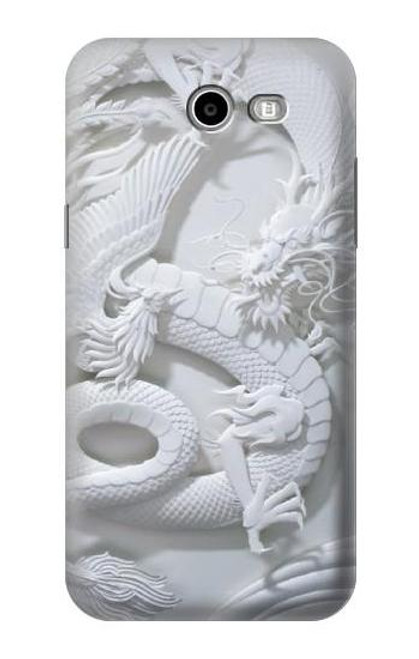 S0386 Dragon Carving Case For Samsung Galaxy J7 (2017), J7 Perx, J7V, J7 Sky Pro