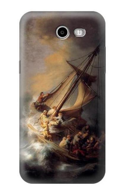S1091 Rembrandt Christ in The Storm Case For Samsung Galaxy J7 (2017), J7 Perx, J7V, J7 Sky Pro
