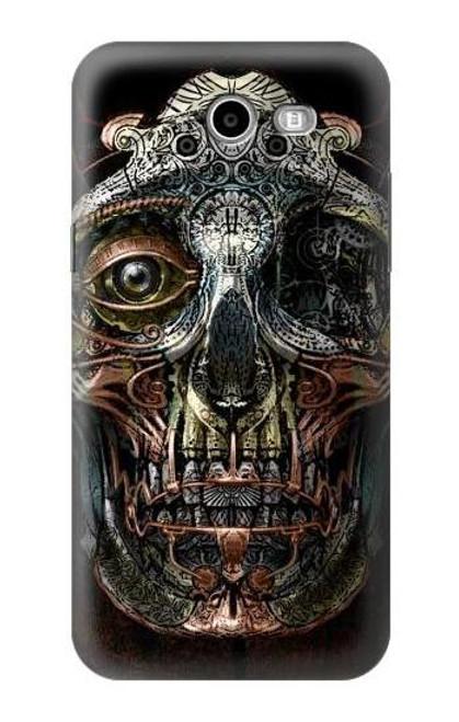 S1685 Steampunk Skull Head Case For Samsung Galaxy J7 (2017), J7 Perx, J7V, J7 Sky Pro