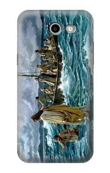 S1722 Jesus Walk on The Sea Case For Samsung Galaxy J7 (2017), J7 Perx, J7V, J7 Sky Pro