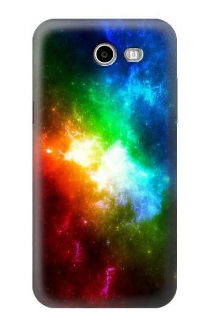 S2312 Colorful Rainbow Space Galaxy Case For Samsung Galaxy J7 (2017), J7 Perx, J7V, J7 Sky Pro