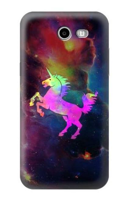 S2486 Rainbow Unicorn Nebula Space Case For Samsung Galaxy J7 (2017), J7 Perx, J7V, J7 Sky Pro