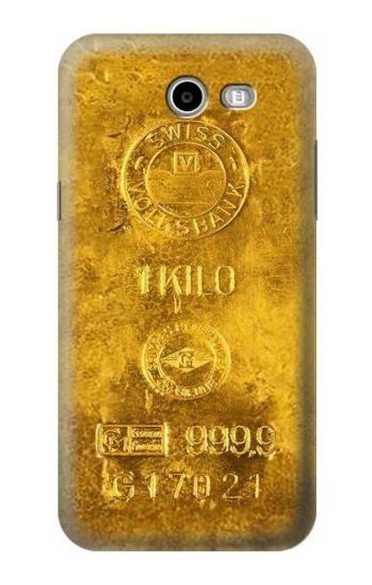 S2618 One Kilo Gold Bar Case For Samsung Galaxy J7 (2017), J7 Perx, J7V, J7 Sky Pro