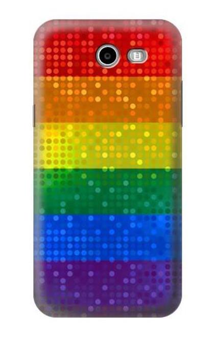 S2683 Rainbow LGBT Pride Flag Case For Samsung Galaxy J7 (2017), J7 Perx, J7V, J7 Sky Pro