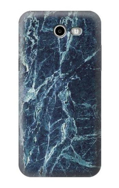 S2799 Light Blue Marble Stone Graphic Printed Case For Samsung Galaxy J7 (2017), J7 Perx, J7V, J7 Sky Pro