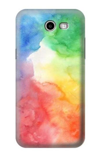 S2945 Colorful Watercolor Case For Samsung Galaxy J7 (2017), J7 Perx, J7V, J7 Sky Pro